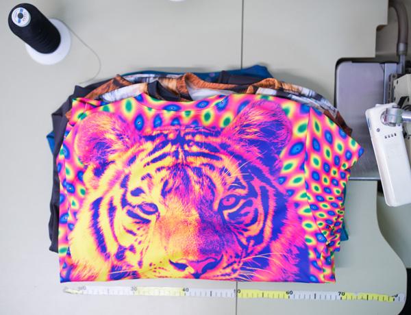 Projektowanie odzieży custom print